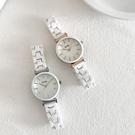 流行女錶 陶瓷手錶女白色韓版簡約氣質ins風泫雅顯白奢華小眾品牌 店慶降價