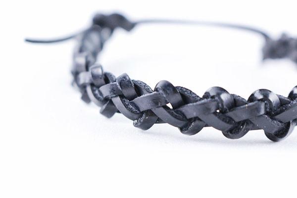 Classics77 - RIDE AGAIN JACKAROO BRACELET皮手環 - 黑