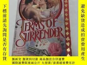 二手書博民逛書店Terms罕見of surrenderY371403 多切斯特出版社公司 出版1993