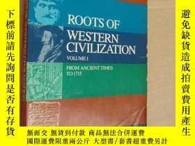 二手書博民逛書店Roots罕見of Western Civilization v