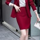 酒紅杏色粉色亮色穿搭上班窄裙短裙[20X307-PF]美之札