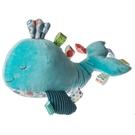 MARY MEYER 標籤安撫玩偶-幾何鯨魚