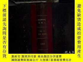 二手書博民逛書店the罕見journal of the american medica association 1925 jan-