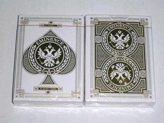 【USPCC撲克館】EMINENCE GOLD Playing Cards