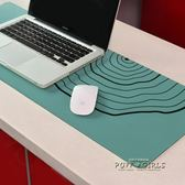 滑鼠墊 超大鎖邊創意無界插畫游戲滑鼠墊加厚大號筆記本電腦辦公桌墊