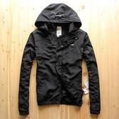 春秋男士大碼運動外套薄款夾克衫帶帽男青年休閒戶外防風衣沖鋒衣 挪威森林