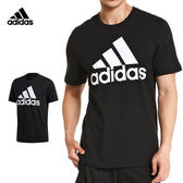 Adidas Ess Linear 男 黑 短袖上衣 運動上衣 短T 棉T 愛迪達 基本款 三線 CD4864