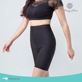 【Marena 瑪芮娜】日常塑身運動系列 輕塑高腰五分塑身褲-黑