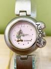 【震撼精品百貨】米奇/米妮_Micky Mouse~日本迪士尼米奇鐵錶/手錶-圓粉#21600