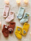 兒童襪子2雙裝秋冬新款加絨加厚保暖嬰兒襪子寶寶保暖襪子兒童寶寶襪子伊芙莎旗艦店