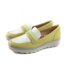 Moonstar Tatto 懶人鞋 保健鞋 黃/白 女鞋 TA073 no340