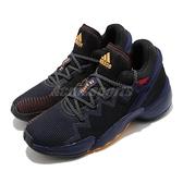 adidas 籃球鞋 D.O.N. Issue 2 GCA 黑 黃 男鞋 米邱 二代 運動鞋【ACS】 FX7428