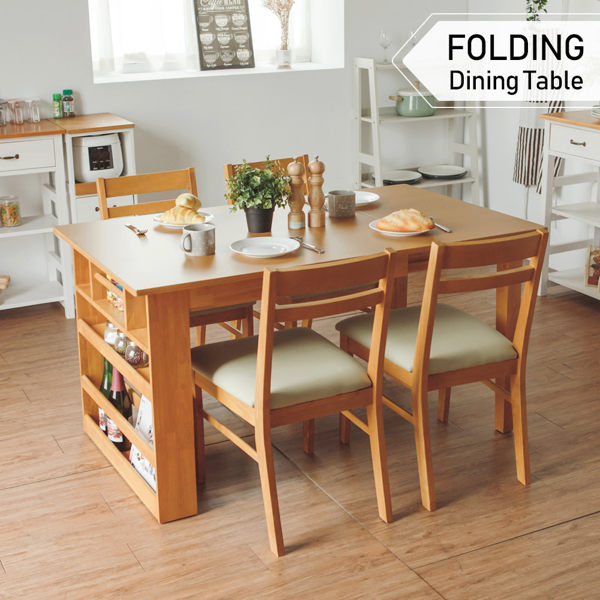 北歐 餐桌 工作桌 桌子 伸縮餐桌【Y0585】維納斯2~4人可伸縮收納餐桌(兩色) 收納專科