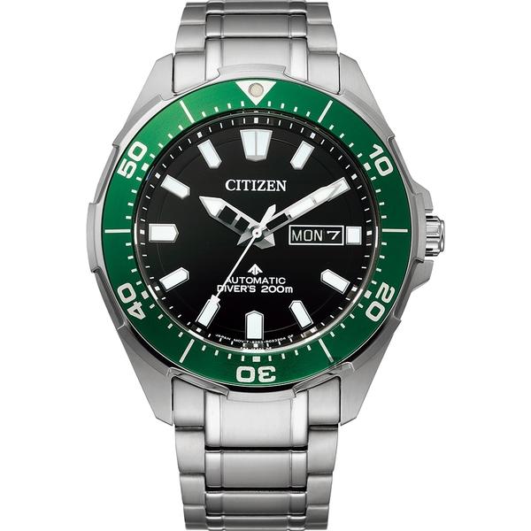 CITIZEN 星辰 PROMASTER 鈦金屬200米潛水機械錶(NY0071-81E)
