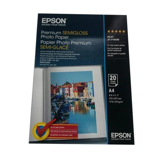 EPSON A4頂級柔光相片紙 S041332