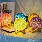 小夜燈臥室小夜燈插電床頭燈創意夢幻喂奶生日禮物宿舍led節能充電台燈 數碼人生