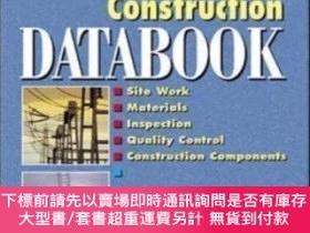 二手書博民逛書店Electrical罕見Construction DatabookY464532 Robert B. Hick