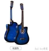 吉他男女初學者民謠木吉它入門練習自學新手易學6弦樂器 QQ13206『bad boy時尚』