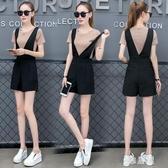 夏天時尚韓版棉質運動衣服休閒短褲套裝2020年新款女潮兩件套洋氣 PA16194『雅居屋』