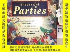 二手書博民逛書店HOW罕見TO GIVE Successful Parties 如何舉辦成功的派對(03)(書封破損)Y203
