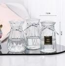 花瓶 加厚玻璃花瓶透明北歐ins風創意水培植物綠蘿水養插花器【快速出貨八折鉅惠】