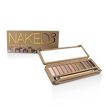 SW Urban Decay-16 眼影盤 Naked 3 Eyeshadow Palette: 12x Eyeshadow, 1x Doubled Ended Shadow/Blending Brush