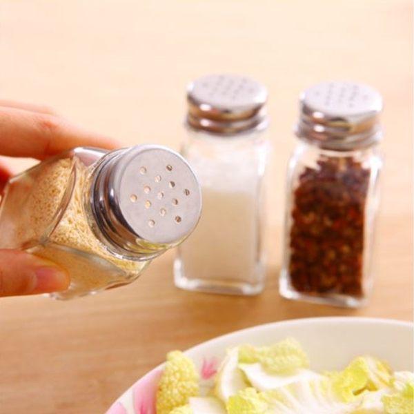 [拉拉百貨]廚房玻璃調味罐調料瓶鹽罐子調味料瓶胡椒粉瓶調味瓶燒烤調料罐