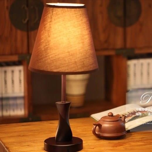 客廳燈具  木質  桌燈