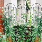 歐式鐵藝薔薇爬藤架子花支架戶外庭院植物月季鐵線蓮攀爬花架 夢幻小鎮