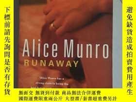 二手書博民逛書店runaway,Alice罕見Munro 逃離英文原版,愛麗絲