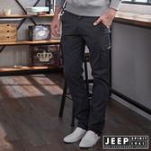 【JEEP】多口袋設計工作褲 (鐵灰)