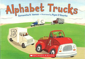 【麥克書店】ALPHABET TRUCKS /英文繪本