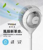 【Whirlpool惠而浦】智能360度旋風扇 WTFE110W