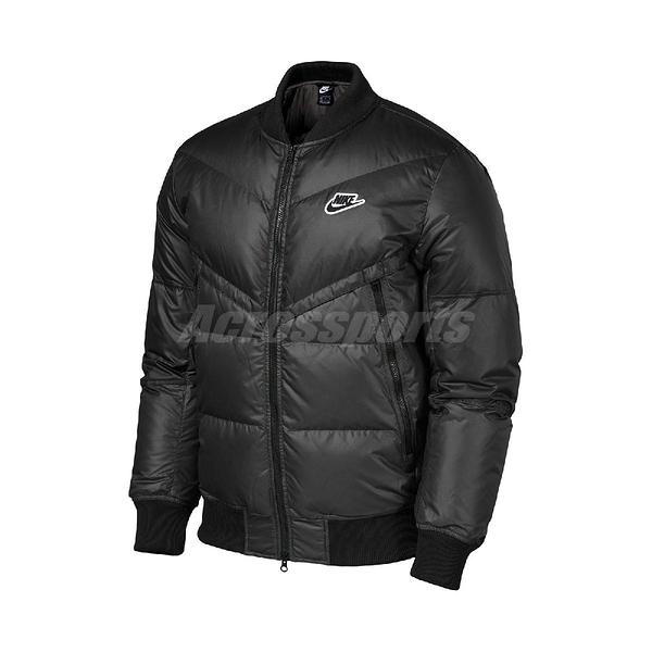 Nike 外套 NSW Down Fill Winter Jacket 黑 白 男款 保暖 羽絨外套 運動休閒 【ACS】 CU4403-010