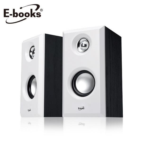【南紡購物中心】E-books D30 木質HI-FI 2.0聲道多媒體音箱