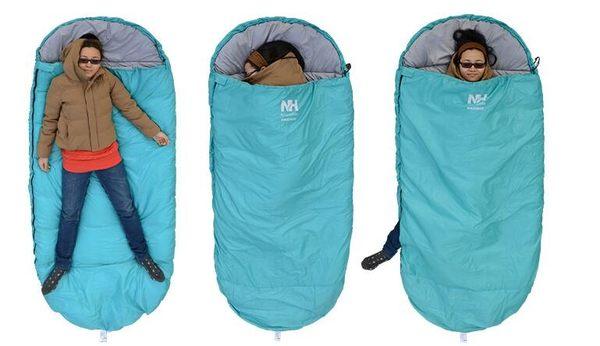 戶外大號四季露營加厚保暖睡袋Ac8640『時尚玩家』