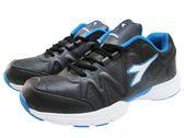 『雙惠鞋櫃』◆DIADORA迪亞多那 ◆素面基本款 運動鞋/學生鞋 ◆ (DA9810) 黑