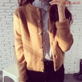 春裝女裝針織衫開衫寬鬆外搭毛衣外套 衣普菈