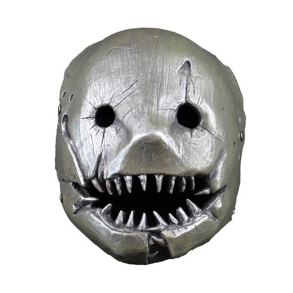 面具 夾子屠夫面具cos黎明殺機 人皇萬圣節恐怖裝扮影視動漫游戲道具
