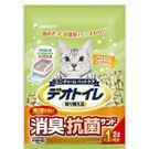 《日本Unicharm嬌聯》消臭抗菌貓砂-條砂2L