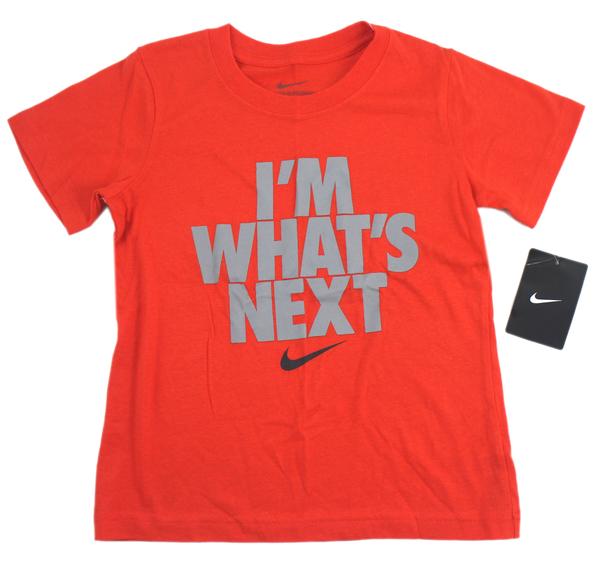 【卡漫城】 正品 Nike 橘色 T恤 6歳 ㊣版 純棉 印尼製 耐吉 耐克 運動服 上衣 男童 女童 棉T 短袖