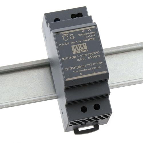 [2美國直購] denkovi 導軌電源 Mean Well HDR-30-24 Industrial DIN Rail Power Supply 24V/1A Out