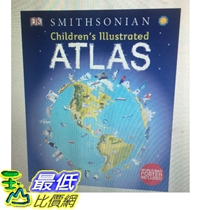 [COSCO代購] W1195646 DK 世界地圖童書 ( 外文書 ) Children's Illustrated Atlas HC