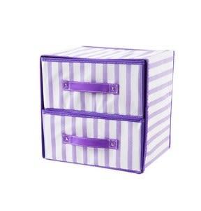 [超豐國際]抽屜式折疊收納箱內衣收納盒布藝多層衣服整理箱衣柜儲物盒