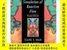 二手書博民逛書店【精裝英文原版】《反應流的數值模擬》Numerical罕見Simulation of Reactive Flow奇