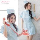 護士裝 角色扮演制服 雙排扣洋裝 白衣天使連身裙- 愛衣朵拉