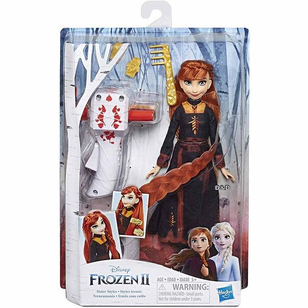 《 Disney 迪士尼 》冰雪奇緣2 公主裝扮頭髮遊戲組 - 安娜╭★ JOYBUS玩具百貨