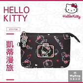 Hello Kitty 零錢包 凱蒂漫旅 凱蒂貓 滿版印花 錢包 KT01T08 得意時袋