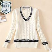 英倫學院風校服毛衣套裝秋冬季日本水手服jk學生製服高中女學生服