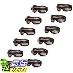 [9美國直購] 防疫眼罩 護目鏡 安全眼鏡 12入 AmazonBasics Safety Goggle, Anti-Fog, Smoke Lens and